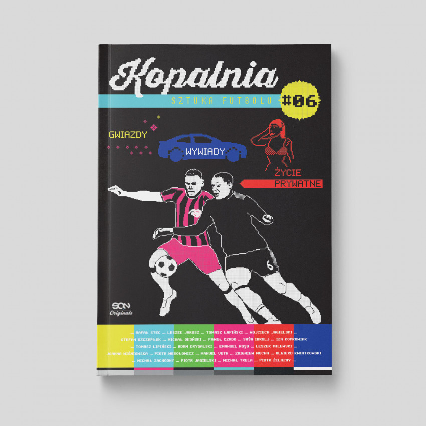 Okładka książki SQN Originals: Kopalnia. Sztuka futbolu 6 w księgarni SQN Store